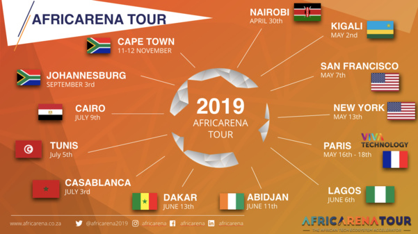 EuroQuity is partnering up with the Africarena Tour to present you the best African tech start-ups