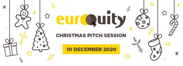 Join the next Belgian E-Pitch session on December 10th at 5:00 PM CET