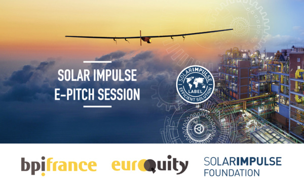 "Join the next Solar Impulse & EuroQuity E-pitch ""Electrification in a Decarbonised World"" on January 21st!"