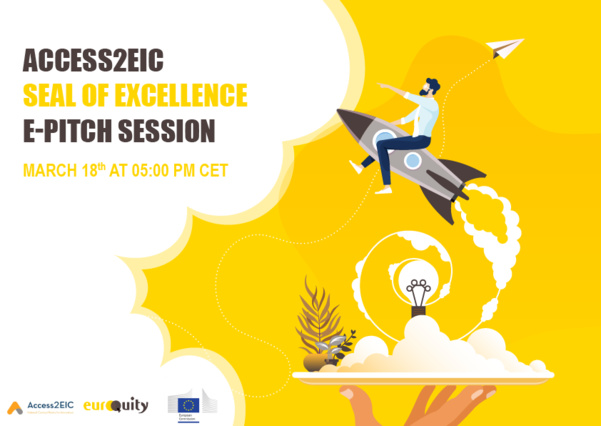 Introducing eight Seal of Excellence companies to investors next March 18th at 5:00 PM CET