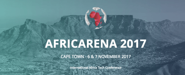 AFRICARENA 2017 to see top 50 African Tech Startups Pitch to world