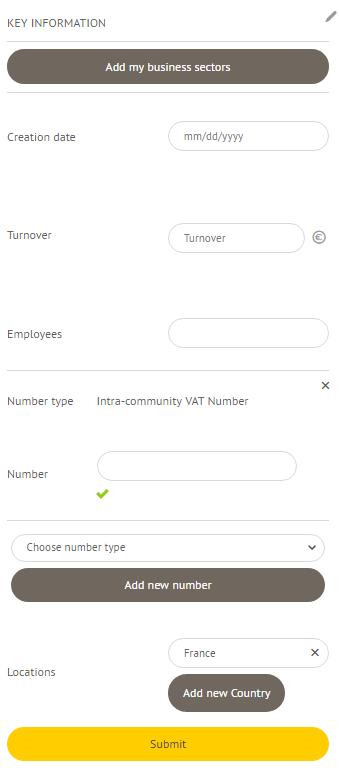 Enhance your company profile