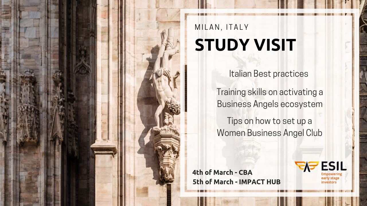 Are you an angel investor interested in learning about the Italian business angel scene?