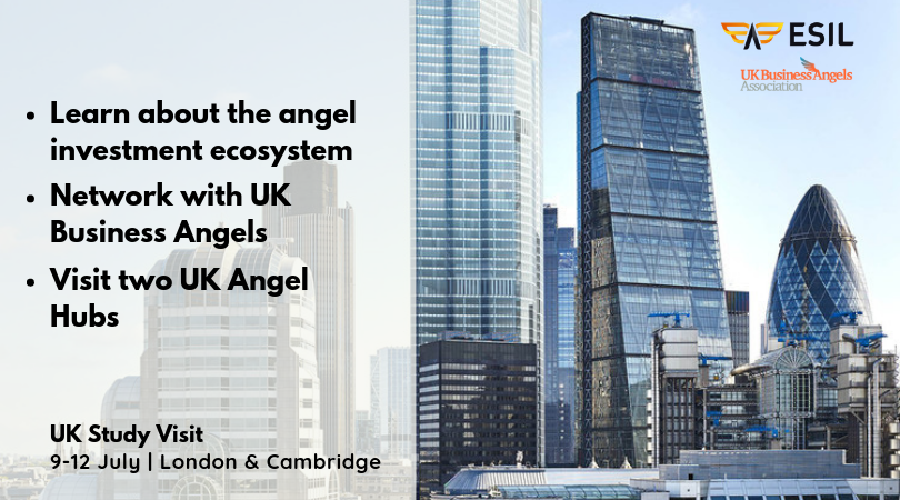 Come to London and learn how to build an angel investor network - ESIL Study Visit