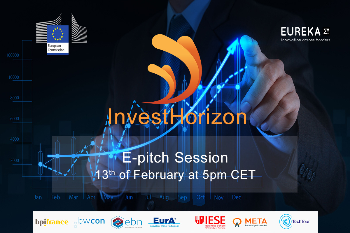 Join the InvestHorizon e-pitch Session on February the 13th at 5:00pm