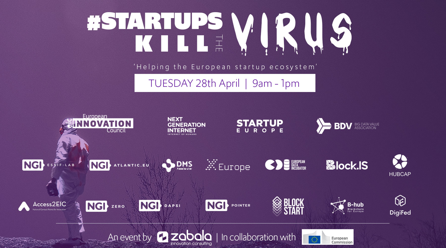 #StartupsKillTheVirus: Online event to support tech innovators in time of COV19 crisis