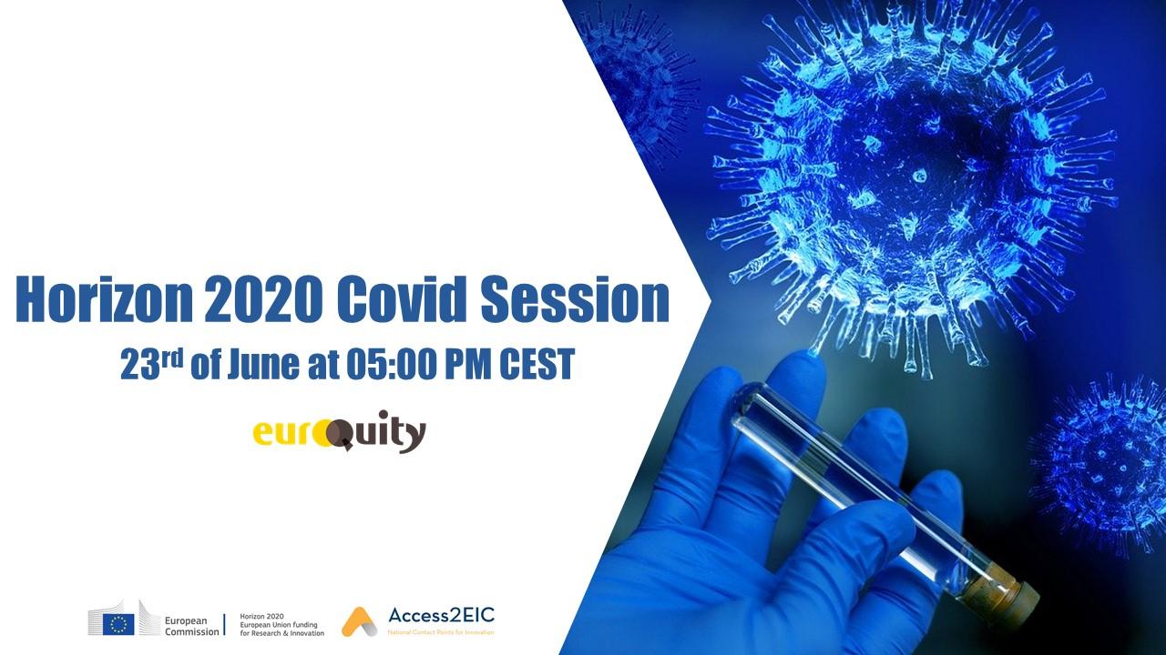 Meet six European entrepreneurs tackling the COVID crisis - June 23rd at 05:00 PM CEST