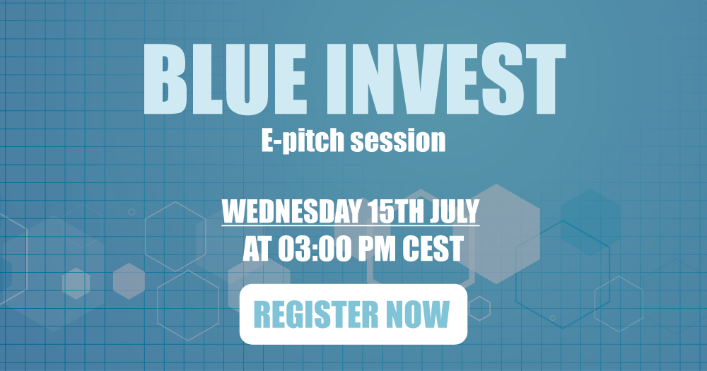 BlueInvest and EIPP join forces and will be introducing green shipping and ocean clean-up solutions next 15th of July at 3:00 PM CEST