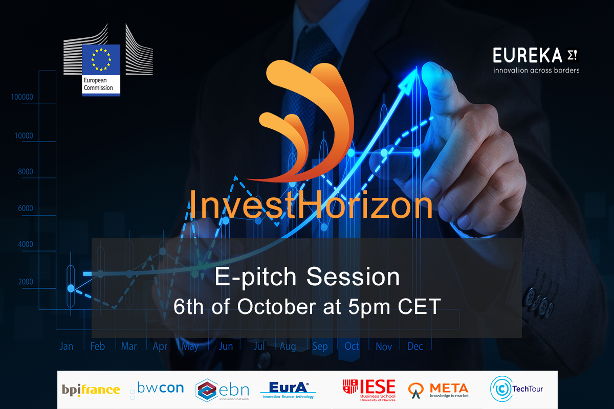 Join the InvestHorizon e-pitch Session Digital on October the 6th at 5:00pm