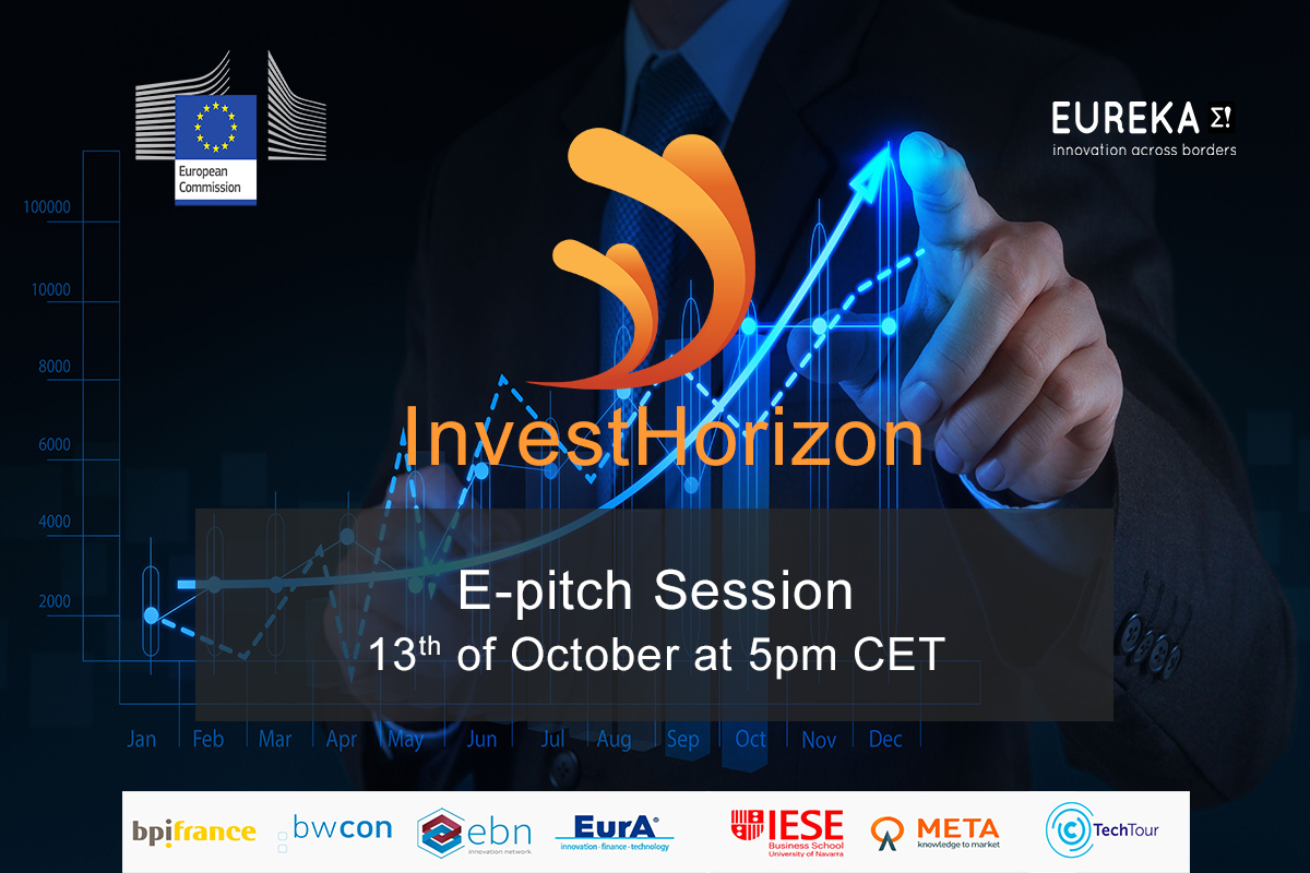 Join the InvestHorizon e-pitch Session Cleantech & Agritech on October the 13th at 5:00pm by META