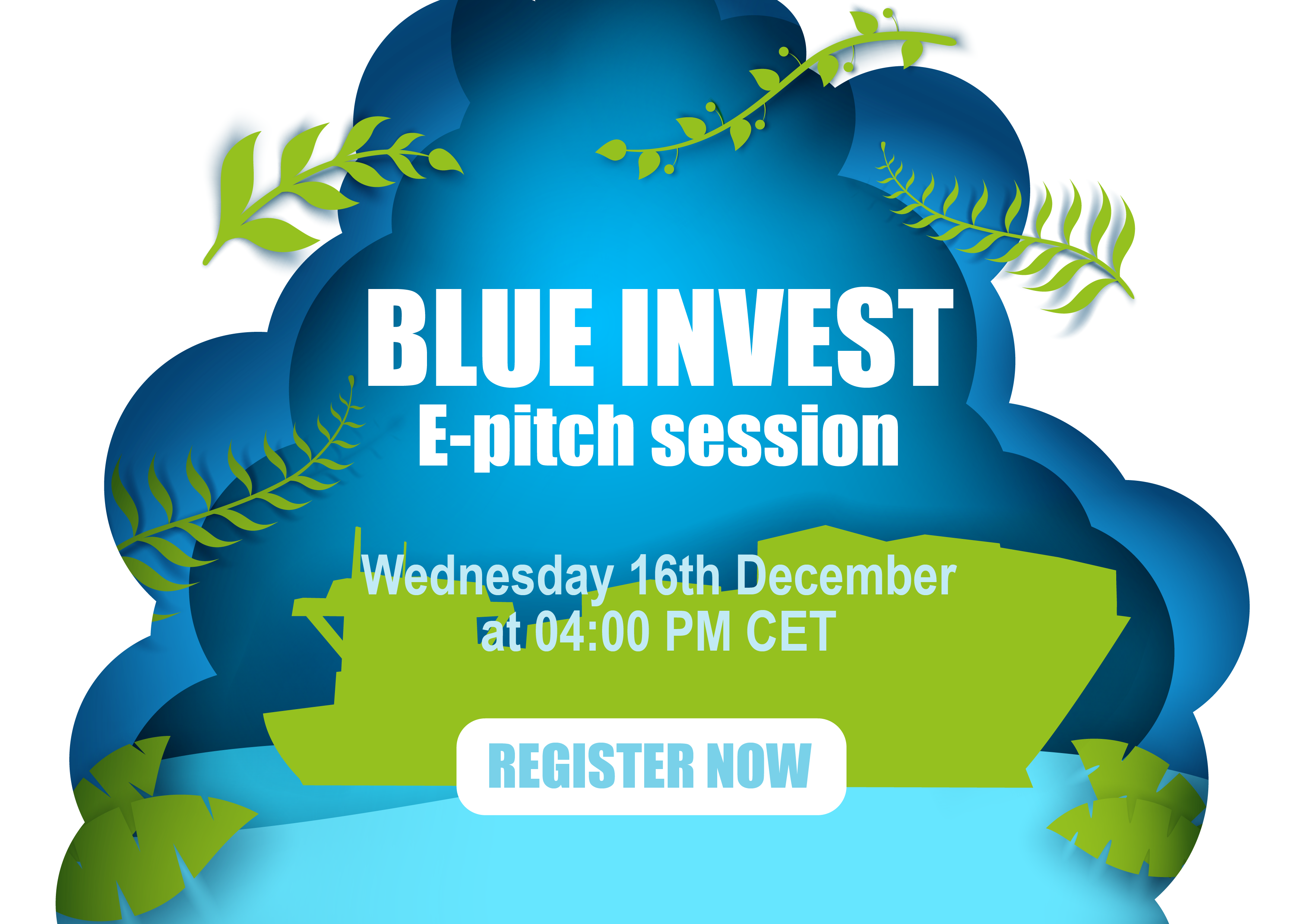 BlueInvest and EIPP join forces and will be introducing blue renewable energy production solutions next 16th of December at 4:00 PM CET