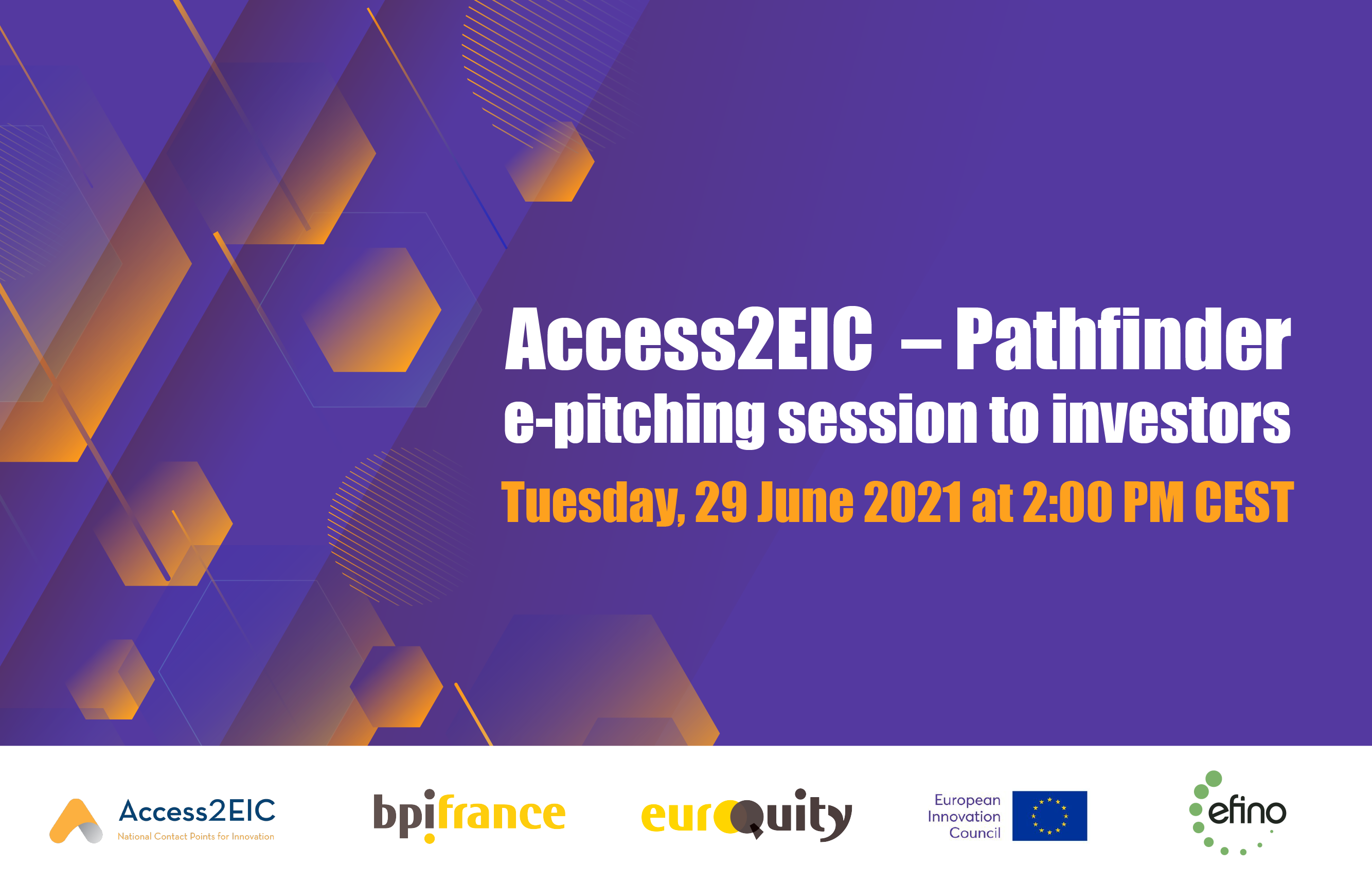 Introducing four Pathfinder companies to investors next June 29th at 2 pm CEST
