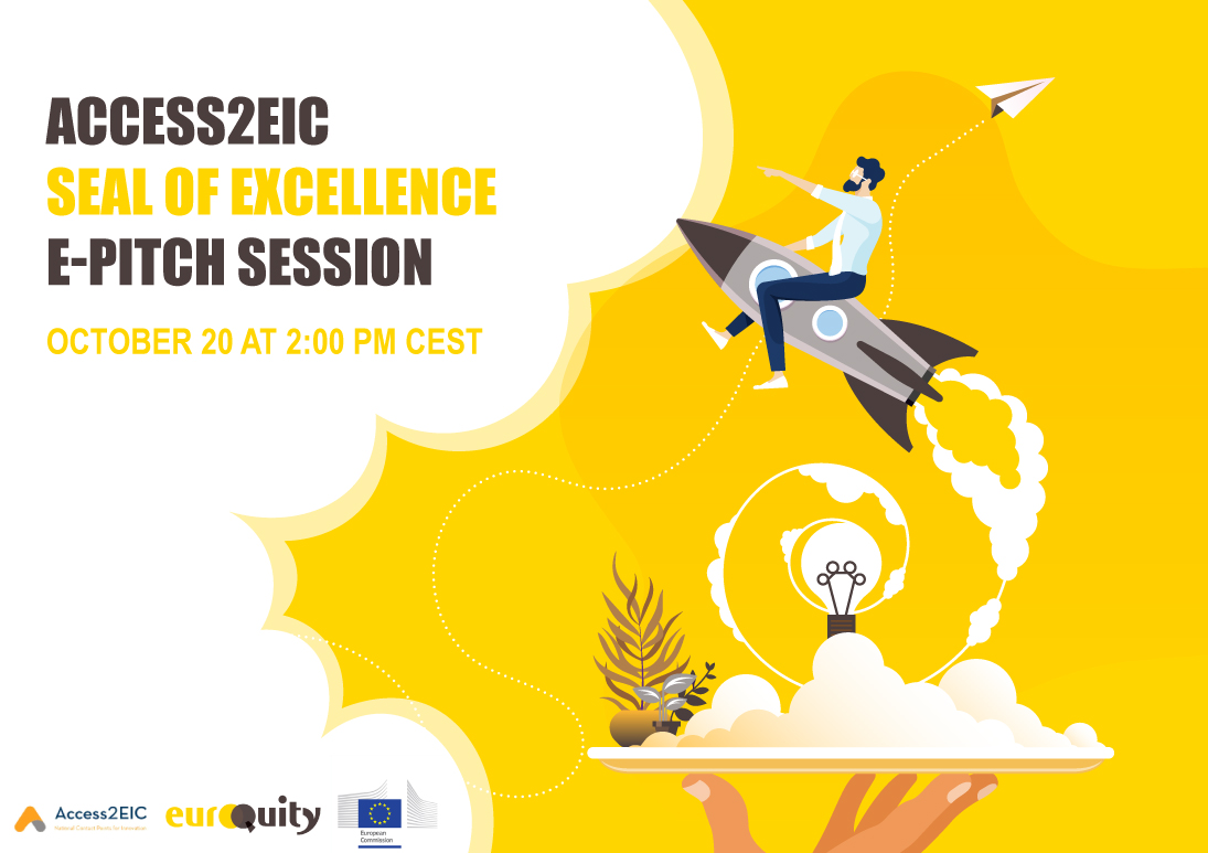 Introducing seven Seal of Excellence companies to investors next October 20th at 2:00 PM CEST