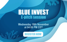 Looking for blue economy investments? Discover the 3rd BlueInvest e-pitch session on November 18th at 4:00 PM CET