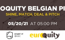 Join the next Belgian E-Pitching session on May 20th at 5:00 PM CEST