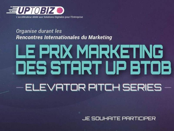 Participez à l'« Elevator Pitch Series » pour le Prix Marketing des startups