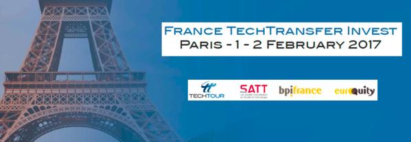 Découvrez l'événement France Tech Transfert Invest Tour, Paris, 1 et 2 février