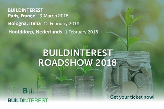 Inscription ouverte aux événements Roadshow BuildInterest !