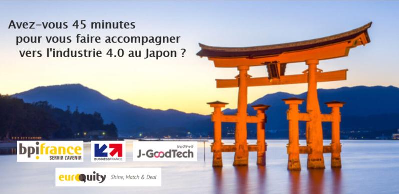 """Retrouvez le webinaire : """"Découvrez l'accompagnement vers l'industrie industrie 4.0 au Japon"""""""