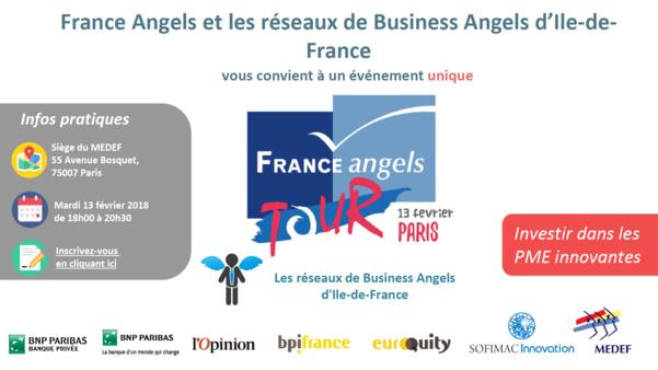Découvrez le France Angels Tour Paris 2018