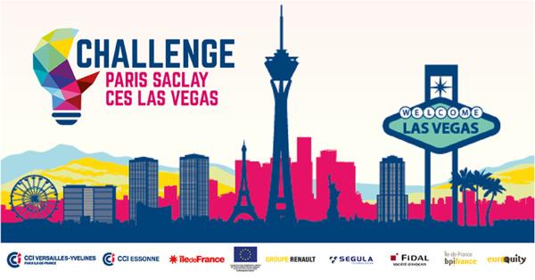 Appel à candidatures | Challenge Paris-Saclay CES Las Vegas 2019