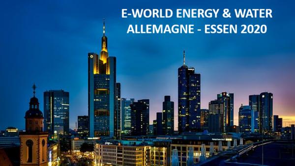Appel à candidatures : Mission d'immersion en Allemagne Pavillon France du salon E-World Energy & Water à Essen par Bpifrance et Business France