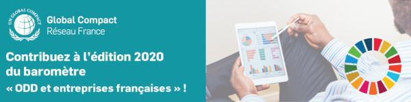 Baromètre ODD et entreprises françaises 2020 - Apportez votre contribution !