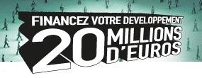 20 fonds d'investissements s'engagent auprès des entrepreneurs : 20 millions d'euros à lever !