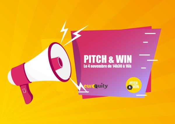 Découvrez les 7 start-ups sélectionnées pour la session Pitch & Win  du 4 novembre à 14:30 CEST