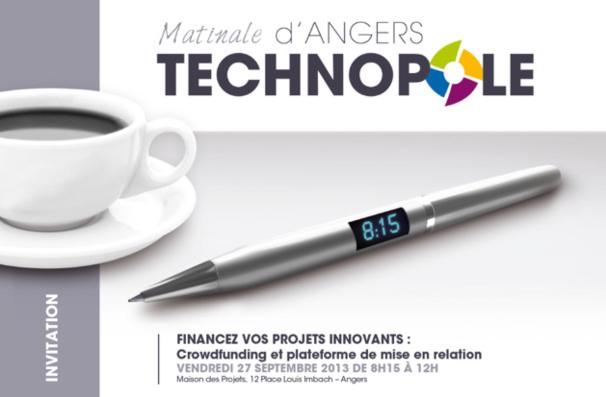 Venez participer à la matinale D'Angers Technopole !