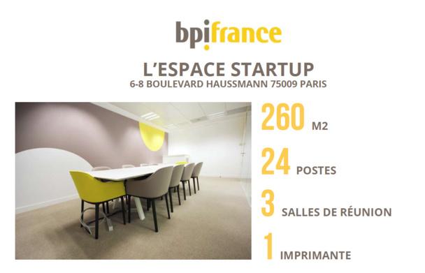 Bpifrance accueille des startups  au cœur de Paris