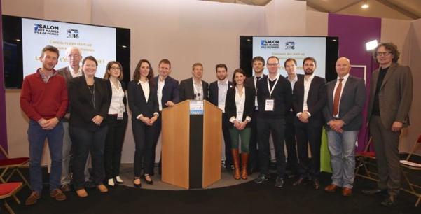 Remise des prix du concours des start-up innovantes franciliennes