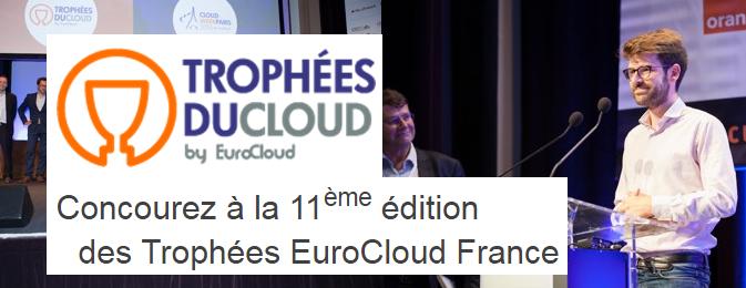 Concourez à la 11ème édition des Trophées EuroCloud France