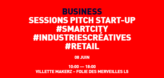 Futur en Seine - SESSIONS PITCH START-UP