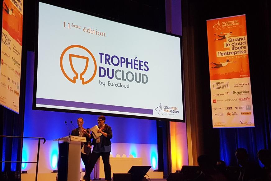 Découvrez le palmarès des Trophées 2017 d'EuroCloud France