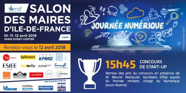 Les lauréats du salon des maires d'Ile-de-France 2018 sont ...