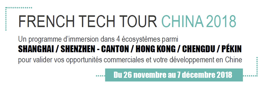 Le French Tech Tour China 2018