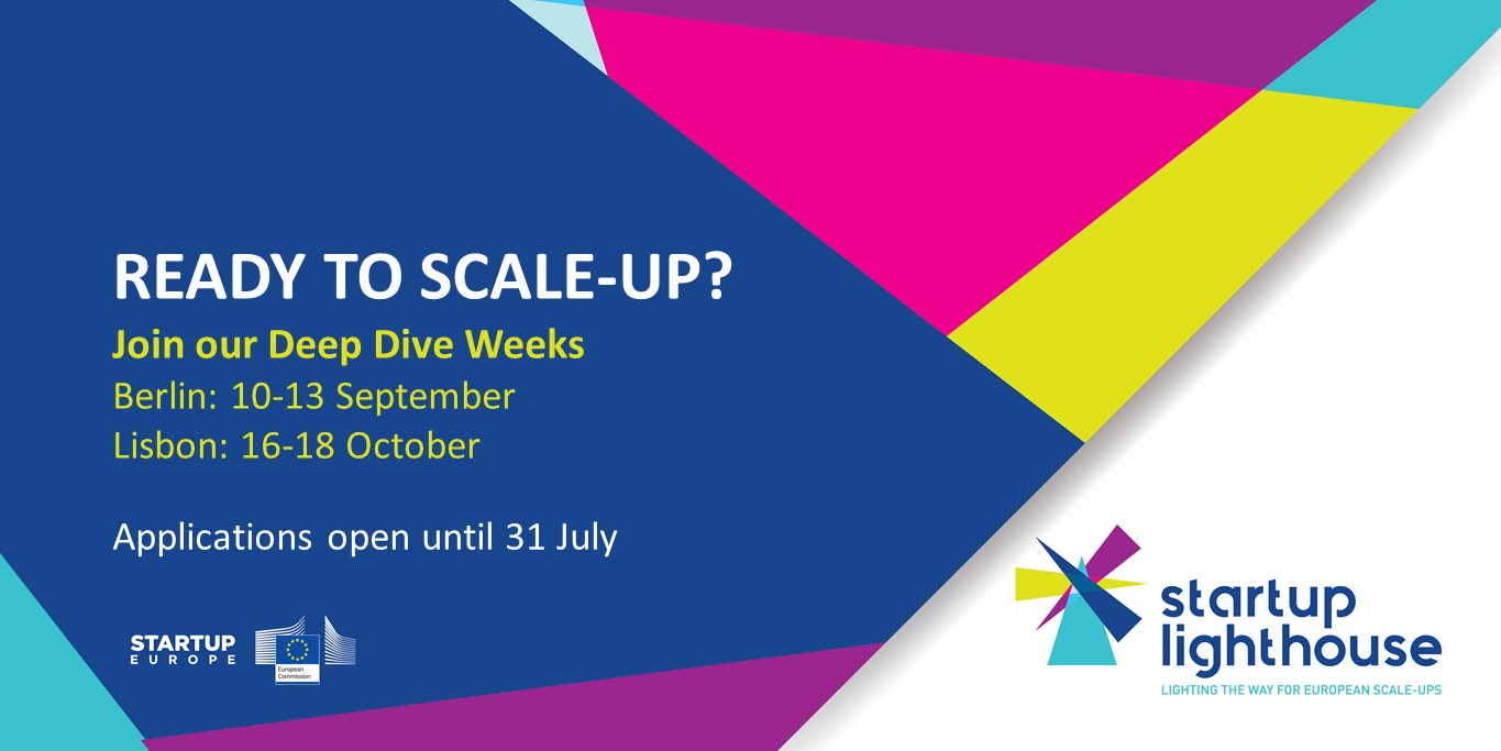 Opportunités Start-ups : Startup Lighthouse organise 2 Deep Dive Week