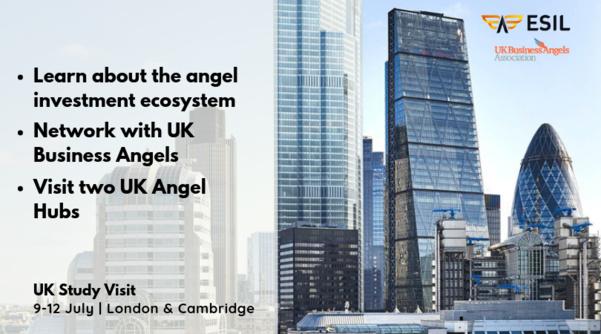 ESIL Study Visit : Venez à Londres et apprenez comment construire un réseau de business angels !