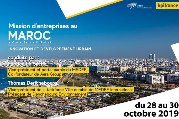 Participez à une mission d'entreprises au Maroc avec Bpifrance