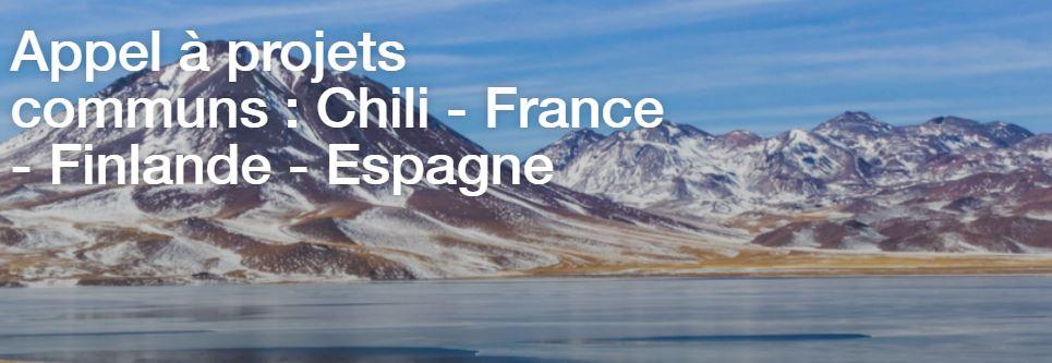 Appel à projets d'innovation franco-chilien