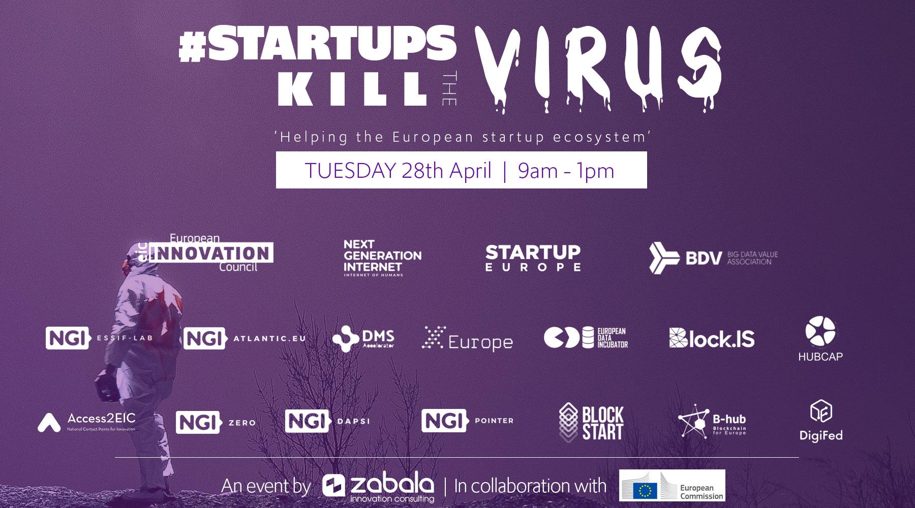 #StartupsKillTheVirus : les webinaires pour soutenir les innovateurs de la tech durant cette crise du Covid-19