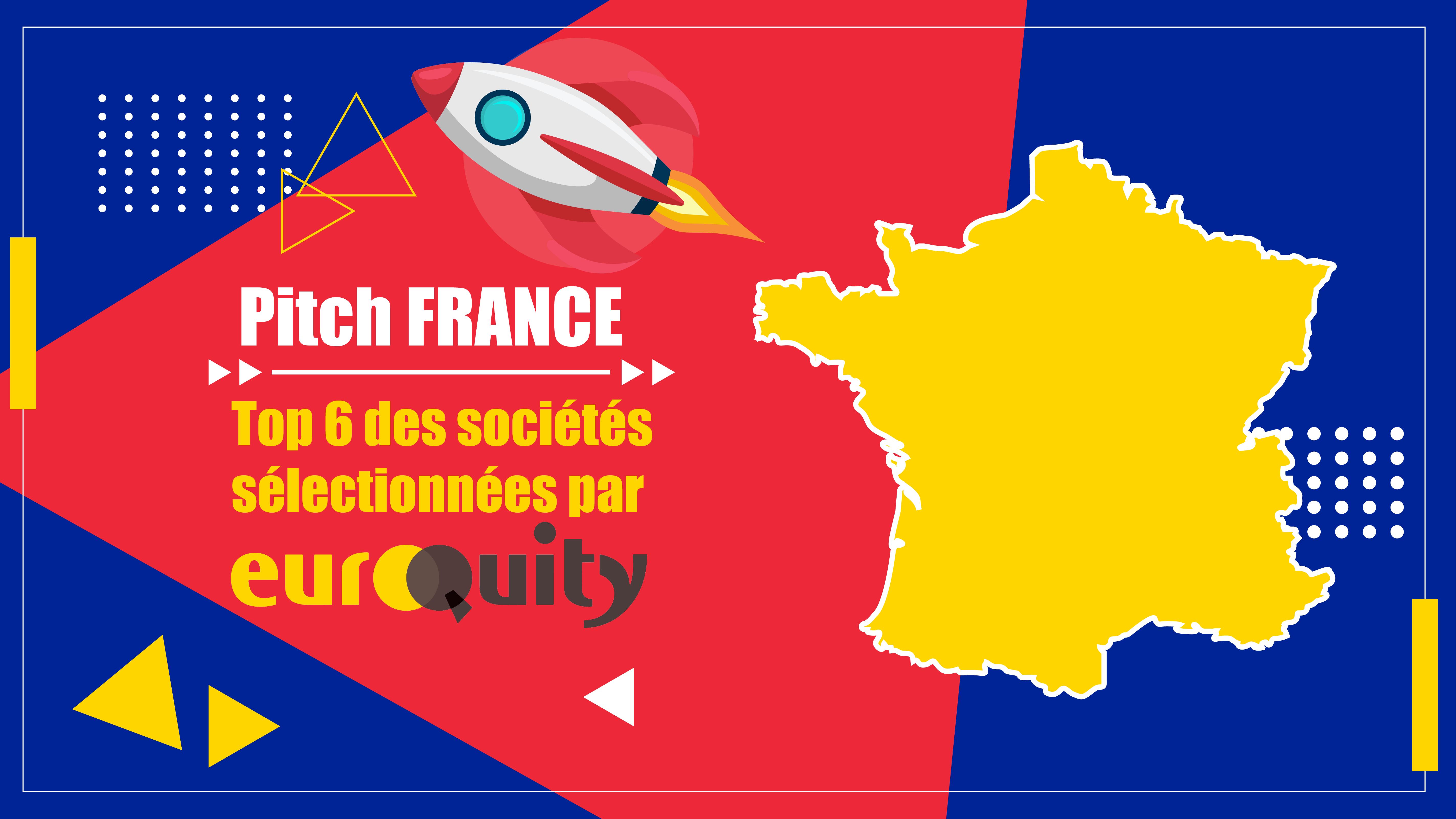 La sélection des 6 startups sélectionnées pour le e-pitch France du 28/01 à 17:00 CET