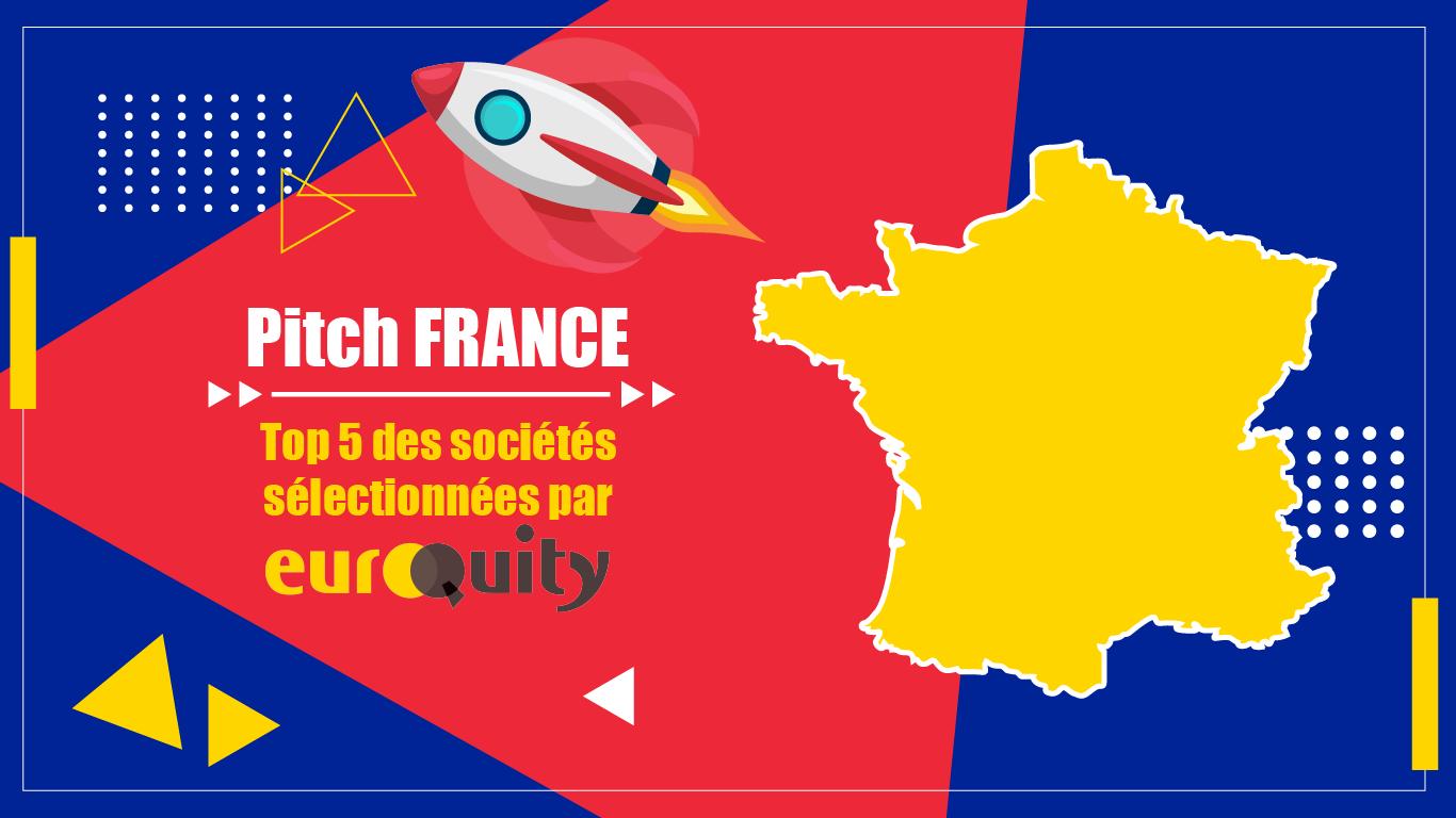 Les 5 startups sélectionnées pour le pitch France du 24 Juin 17:00 CET