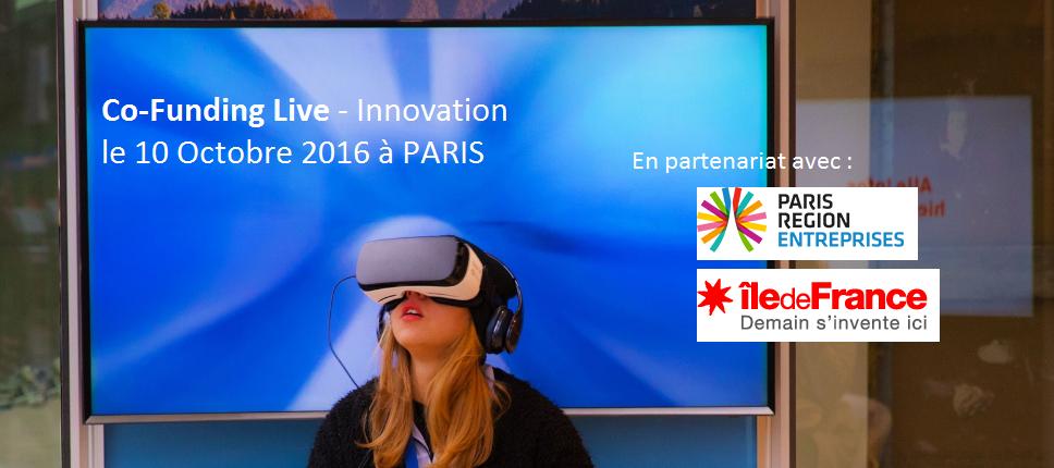 Levez des fonds pour accélérer votre développement au prochain co-funding Live le 10 octobre 2016 à Paris.
