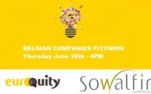Belgian companies pitching!