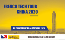 Startups et PME, innovez en Chine ! French Tech Tour China 2020