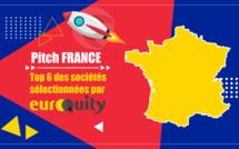 La sélection des 6 startups sélectionnées pour le e-pitch France du 29/04 à 17:00 CET