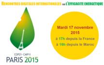 Rencontre digitale franco-marocaine sur l'efficacité energetique